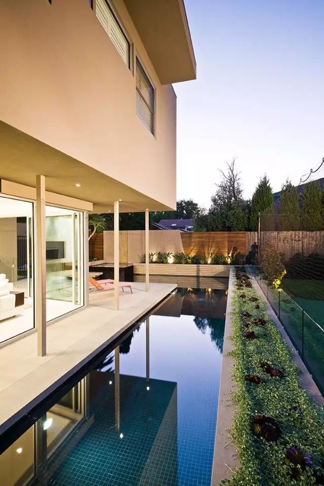 赶紧收藏!21个最美现代风格庭院设计案例_171