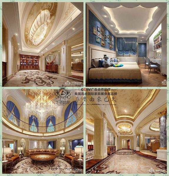 800万室内设计案例-豪宅项目家居