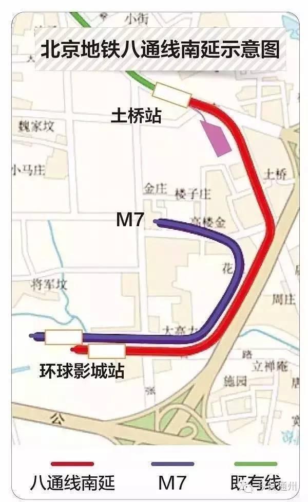 北京地铁7号线东延和八通线南延线同时贯通,明年底通车!_4