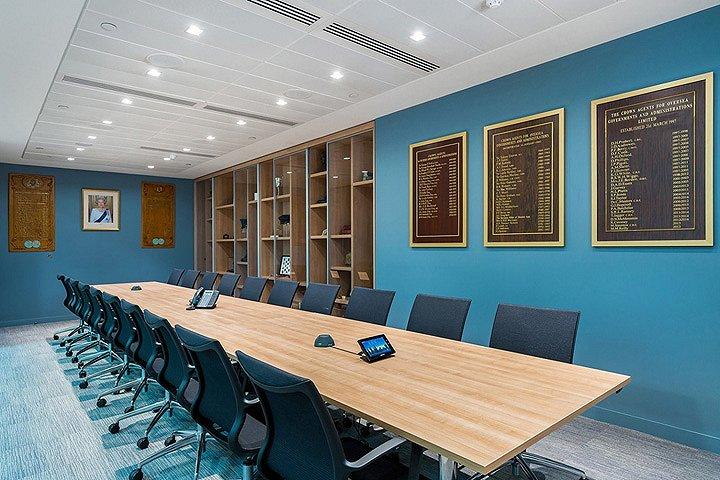 英国CrownAgents总部办公中心-11