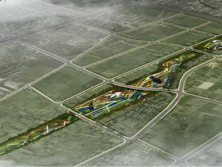 [陕西]西安曲江创意谷湿地公园方案景观概念规划设计(PDF+138页)