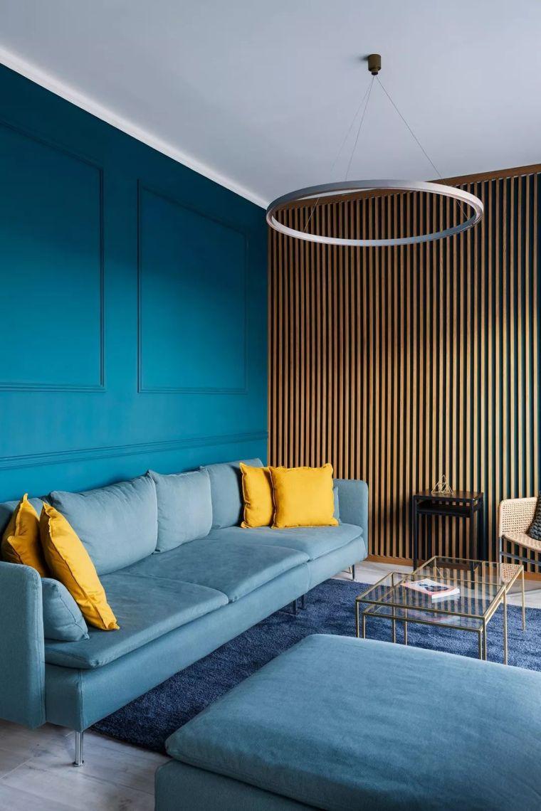 深色系墙面设计,让你家的颜值翻一倍_5