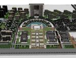 总体城市规划建筑SU模型