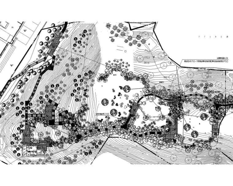 [重庆]公园景观工程电气施工图(最新设计)