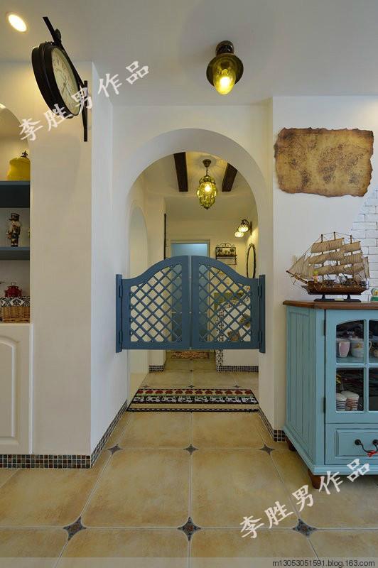 建筑面积:82平米 装修风格:地中海风格