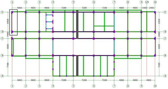 办公楼一层外剪力墙混凝土清单工程量计算方法