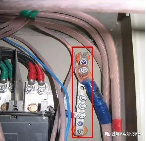 建筑电气工程施工质量通病和解决方法(现场施工图片解说)_25