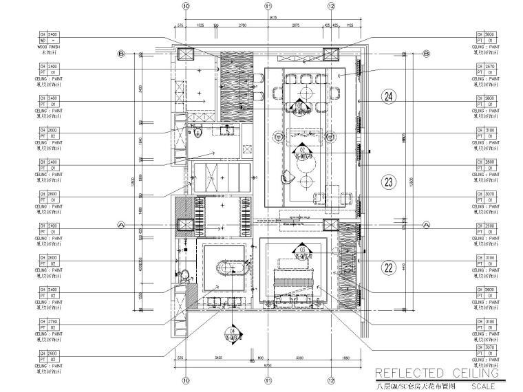 CCD--甘肃会展中心五星级酒店设计施工图(附高清效果图)