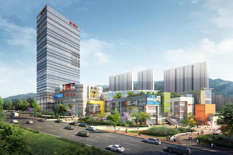 [济南]商业建筑BIM设计全纪录(75页)