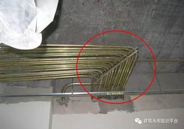 建筑电气工程施工质量通病和解决方法(现场施工图片解说)_4