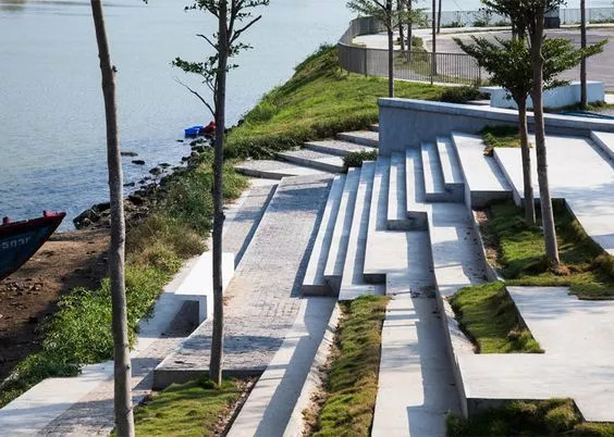 """你以为炫酷的大台阶设计就是画一个超大的""""单跑楼梯""""?_14"""
