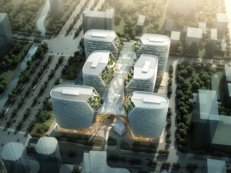 [浙江]杭州软件产业园区建筑设计方案文本PDF(141张)