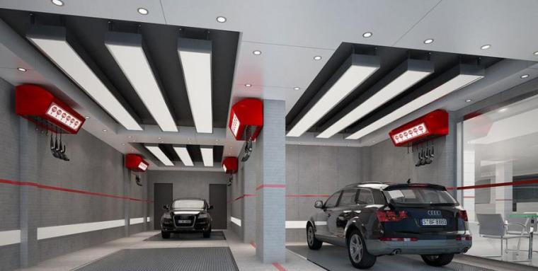 (原创)汽车4S店室内设计案例效果图-汽车4S店 (10)
