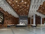 现代售楼大厅3D模型下载
