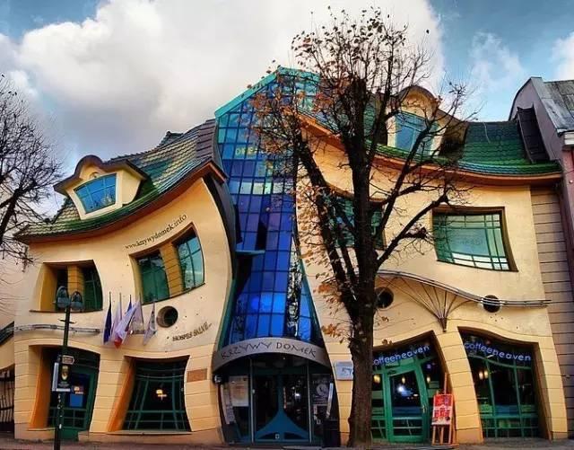 最奇葩的建筑你见过吗?