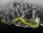 """BIG新作品——曼哈顿的""""隐身坝"""""""