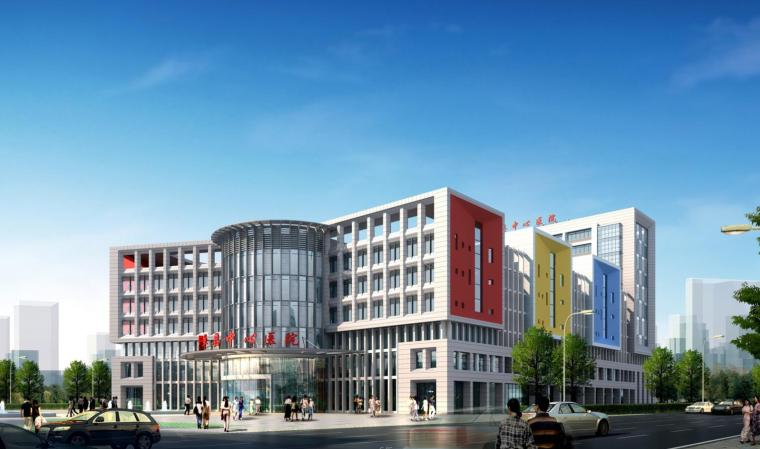 [浙江]某镇卫生医院建筑设计方案(CAD+文本+60页)