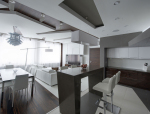 【住宅】俄罗斯某简约公寓设计效果图