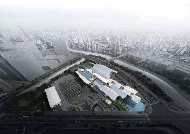 漂浮与锚固 | 深圳龙华文体中心方案设计