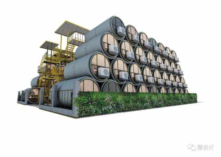 为了香港穷人不再蜗居,他们用水泥管做成了公寓_21