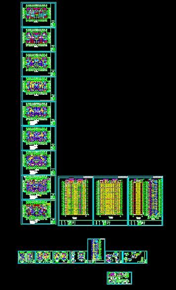 某十八层高层住宅楼建筑设计施工图(共20张)-图纸内容.png