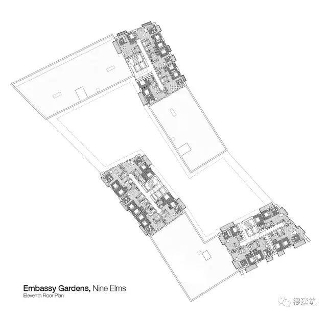 """27米长的""""空中泳池"""",在两栋大楼的第10层连接在一起,中间完全_39"""