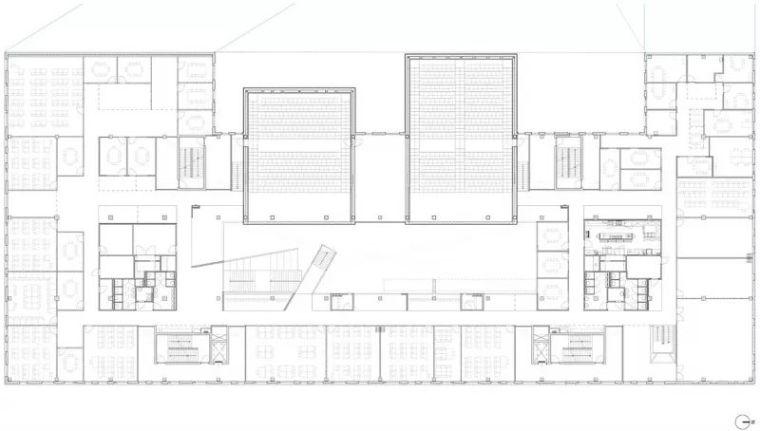 拥有一个霸道中庭的荷兰UTRECHT应用科学大学教学楼/SHL_23