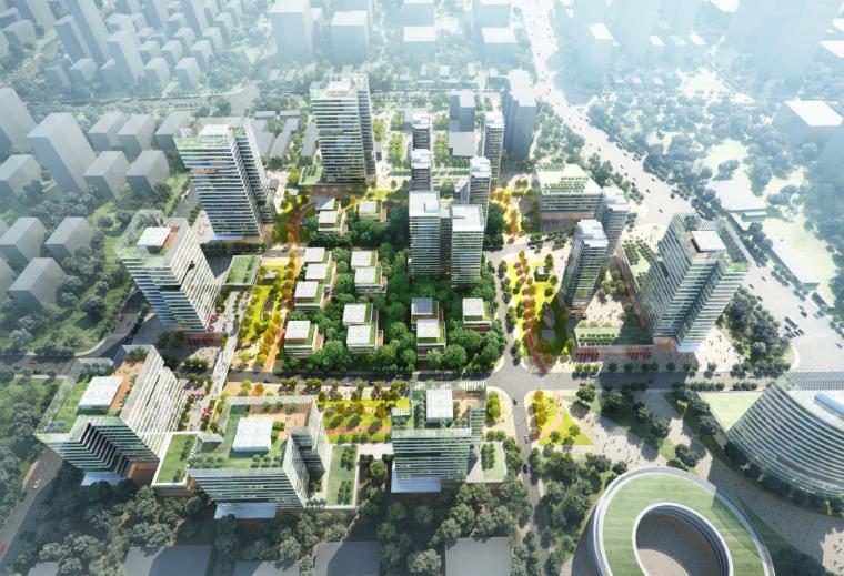 漕河泾开发区地块城市设计方案文本