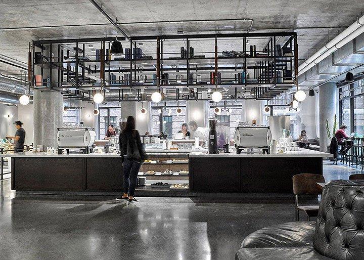 Dropbox总部咖啡区-10
