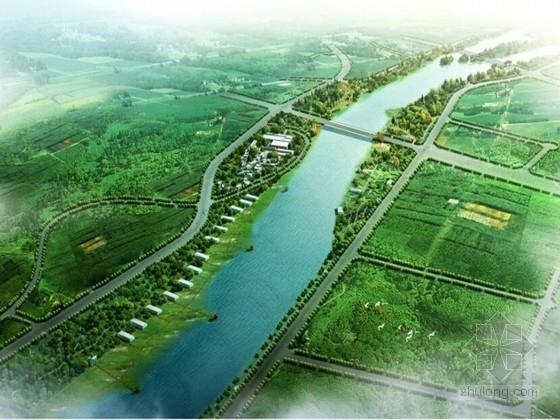 [四川]现代城市河滨景观规划设计方案(图纸精美)