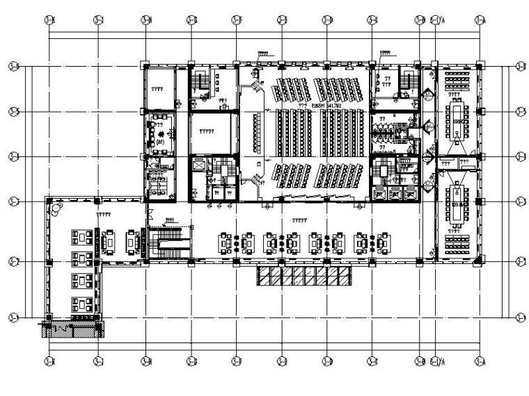 [新疆]国企综合办公楼1-10层室内设计施工图