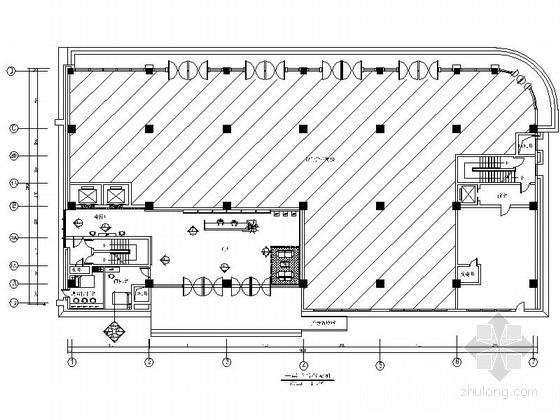 [浙江]全国房地产开发一级资质控股集团办公楼装修CAD施工图(含效果)