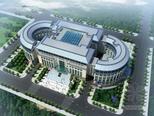 [北京]大型图书馆工程监理规划(3.6万平米 230页)