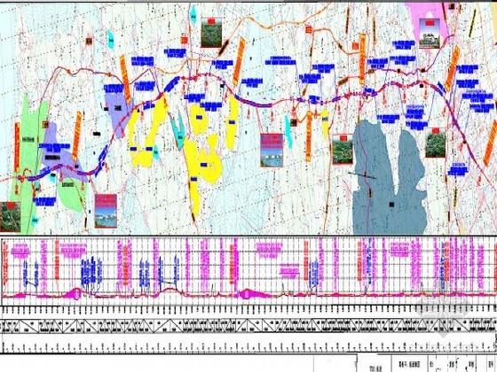 102km跨海大桥及接线工程图纸全套(含服务区 61座桥 6座隧道 )
