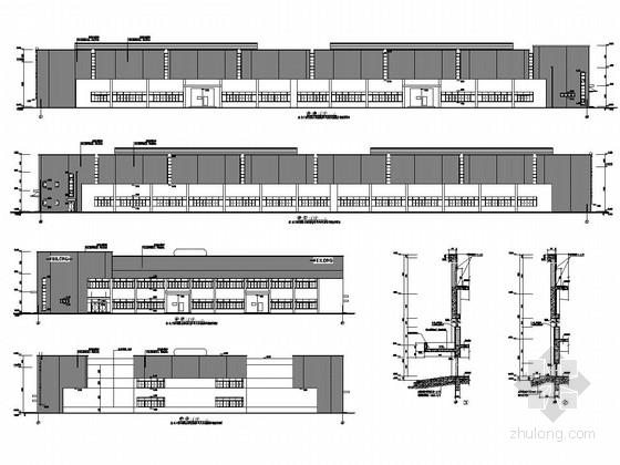 24米跨单层门式刚架(含吊车)厂房结构施工图