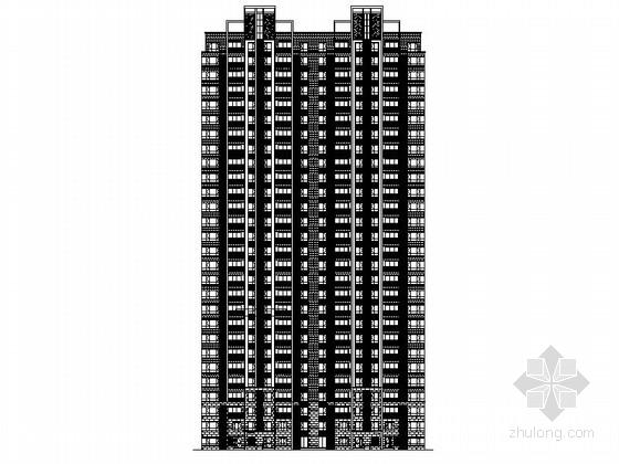 [安徽]28层现代风格住宅建筑施工图(含效果图)