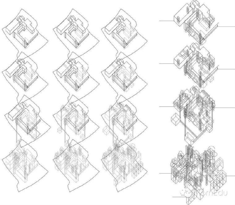 建筑作品集中必须要表现出的态度及图片选择中的原则_5