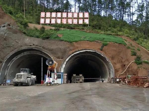 连拱隧道后行洞临时支护施工技术
