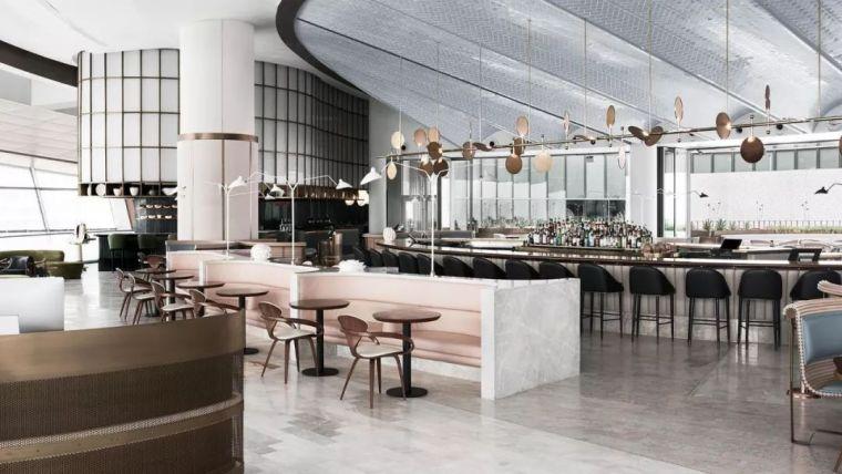 迪拜地标旁的2000平米超大餐厅,精致细节成就奢华设计
