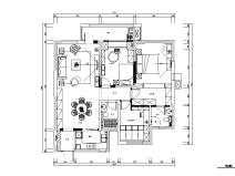 复地东湖国际美式风住宅设计施工图(附效果图)