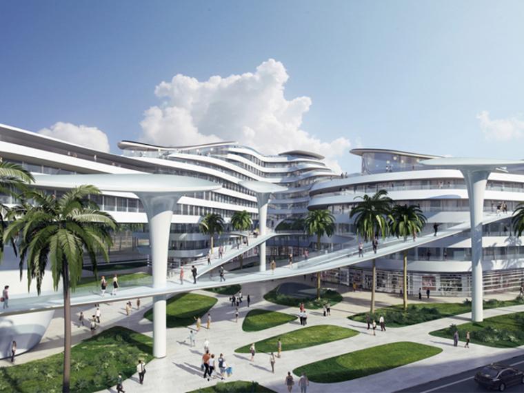 """城市规划 CAA公布马尔代夫""""生命之城""""项目(资料在文末)"""