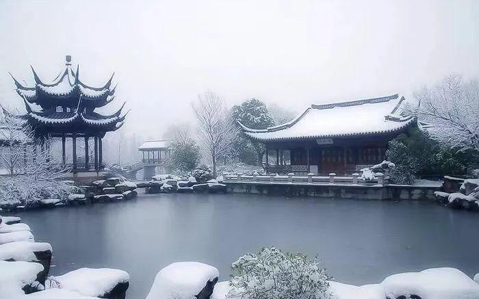 雪景,独有韵味
