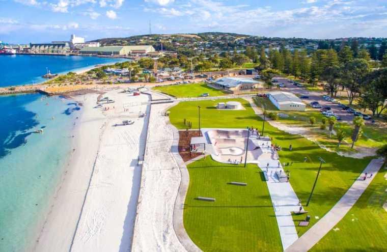 澳大利亚Esperance滑板公园-2