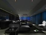 都市现代客餐厅3D模型下载