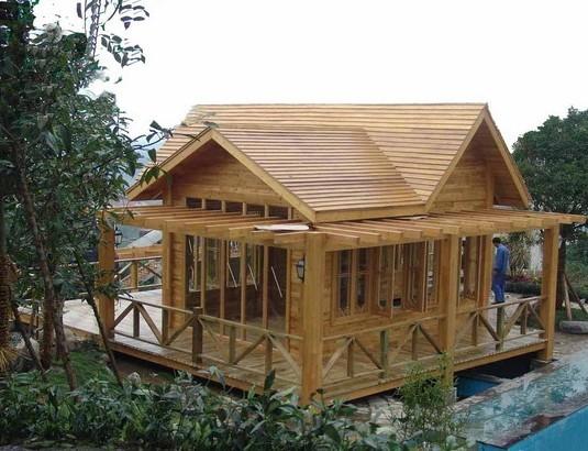 古代木屋建筑步骤图