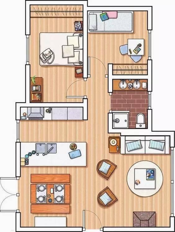 建筑住宅户型设计_2