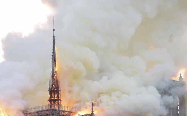 巴黎圣母院大火原因是什么?法国总统马克龙回应了巴黎圣母院大火!