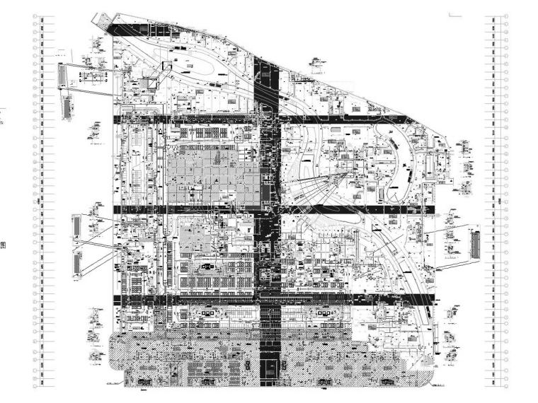 [江苏]高层教育办公建筑空调通风防排烟系统设计施工图(机房设计)
