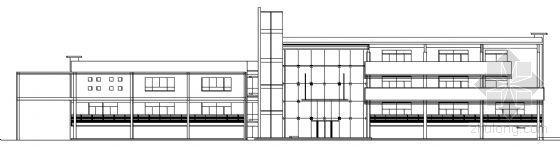 某四层钢结构办公楼建筑施工图