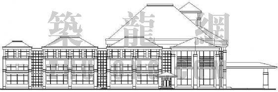 武汉市某培训中心建筑施工图纸(全套)